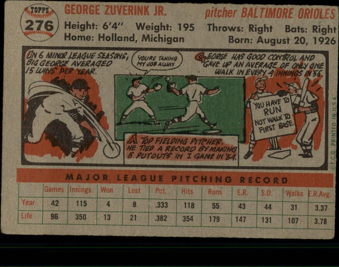 1956-TOPPS-BASEBALL-ASSORTED-SINGLES-U-PICK-242-319 thumbnail 136