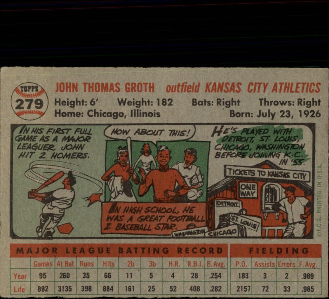 1956-TOPPS-BASEBALL-ASSORTED-SINGLES-U-PICK-242-319 thumbnail 146