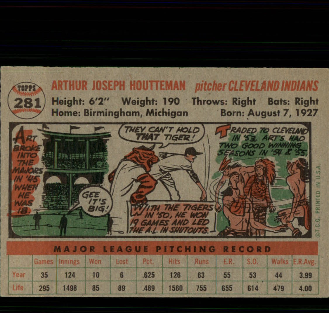 1956-TOPPS-BASEBALL-ASSORTED-SINGLES-U-PICK-242-319 thumbnail 154
