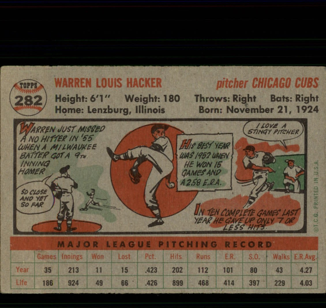 1956-TOPPS-BASEBALL-ASSORTED-SINGLES-U-PICK-242-319 thumbnail 156