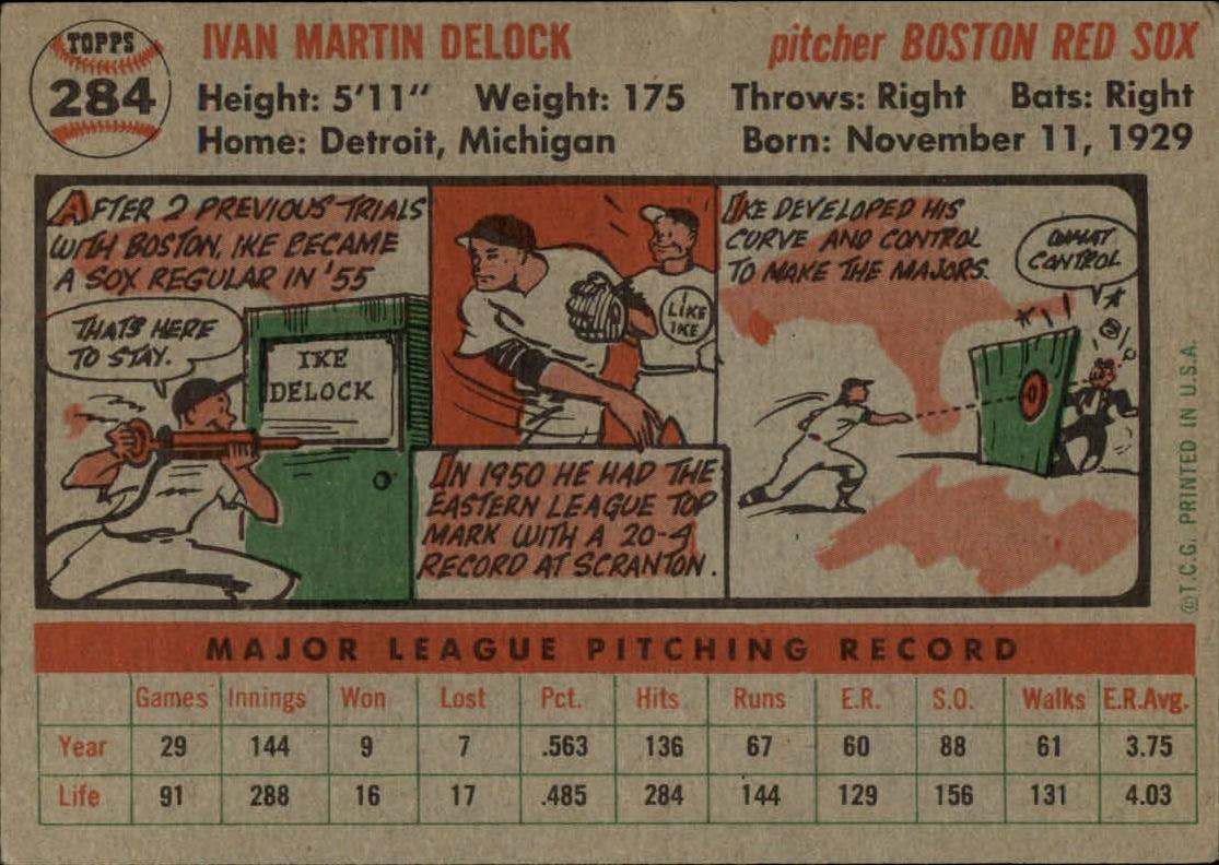 1956-TOPPS-BASEBALL-ASSORTED-SINGLES-U-PICK-242-319 thumbnail 158