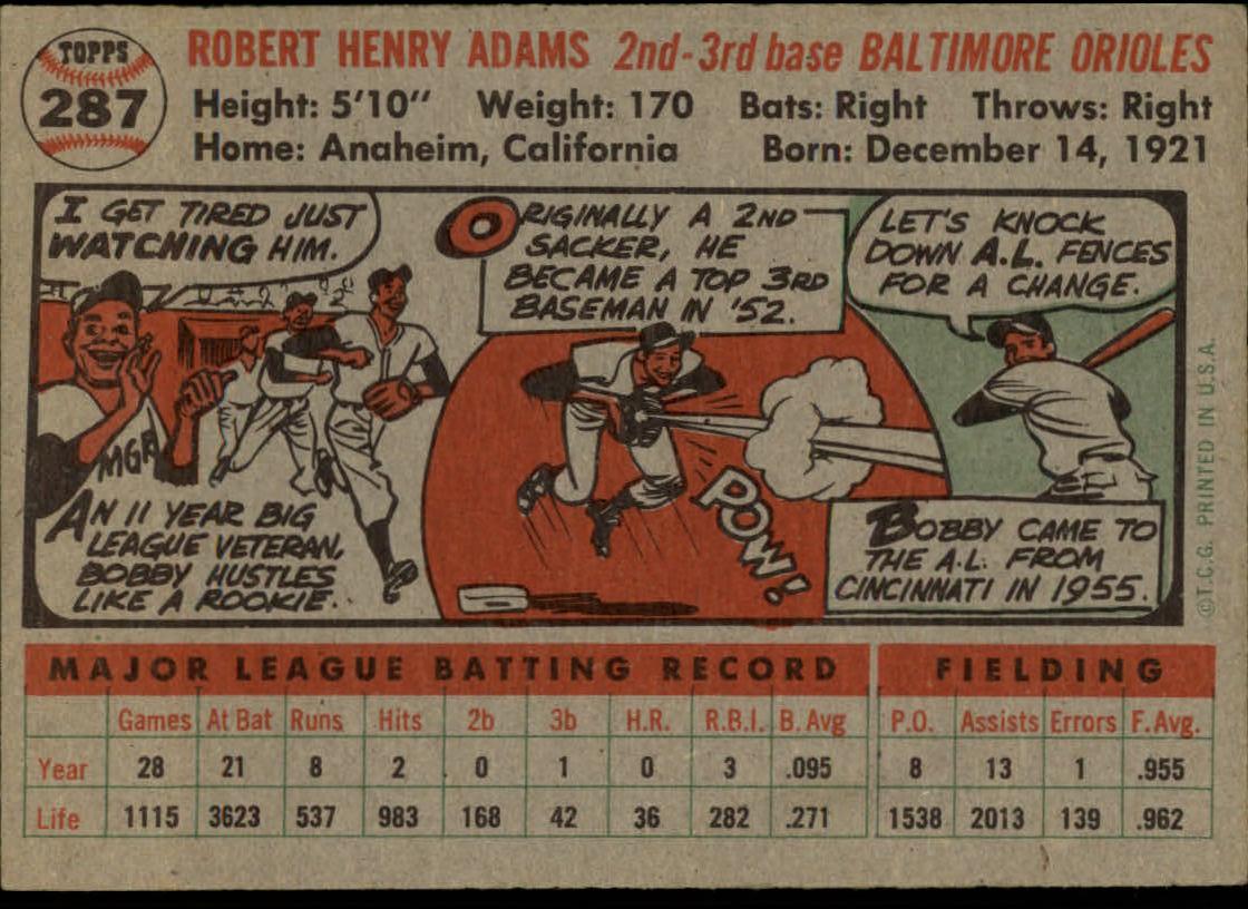 1956-TOPPS-BASEBALL-ASSORTED-SINGLES-U-PICK-242-319 thumbnail 164