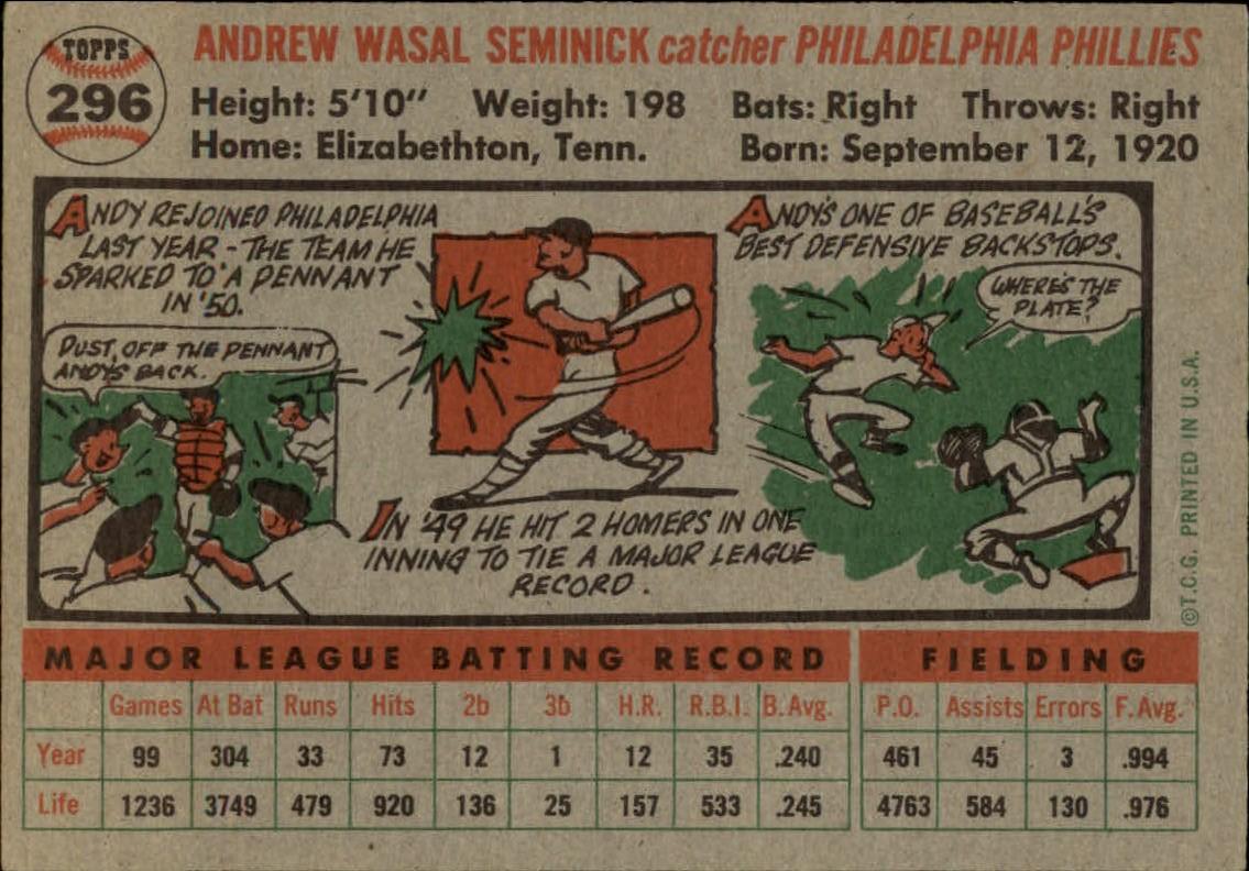 1956-TOPPS-BASEBALL-ASSORTED-SINGLES-U-PICK-242-319 thumbnail 178