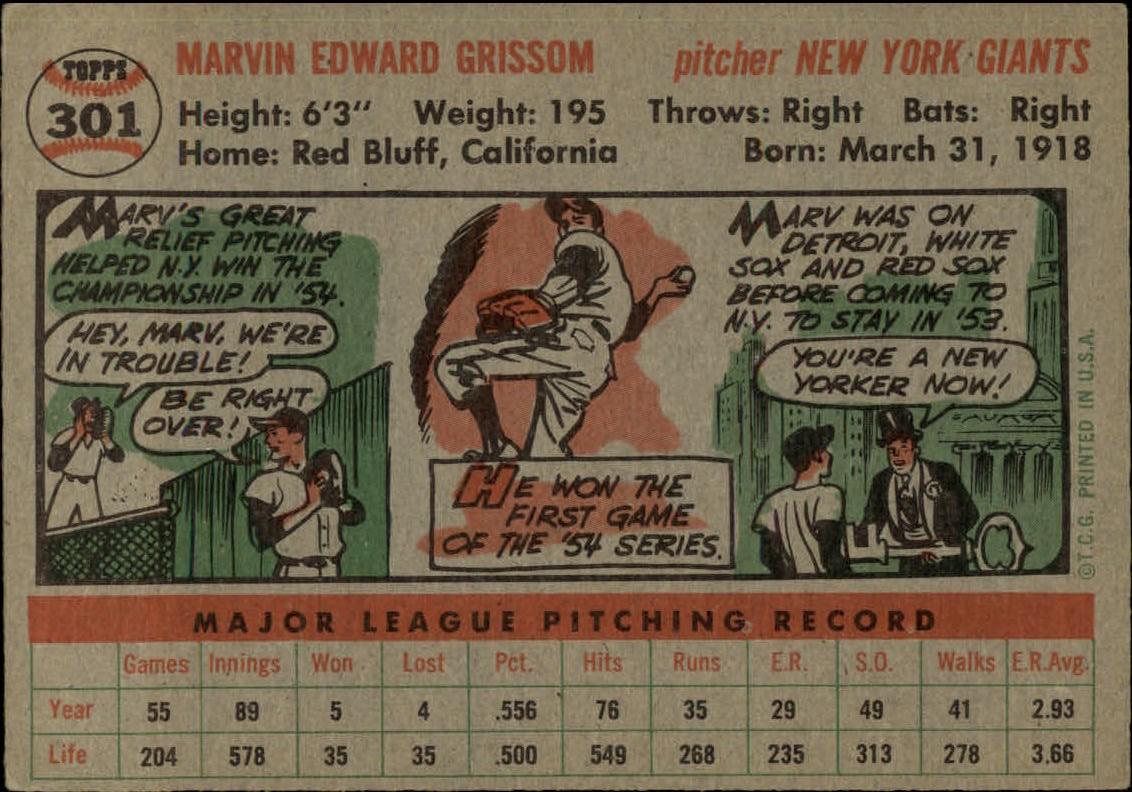 1956-TOPPS-BASEBALL-ASSORTED-SINGLES-U-PICK-242-319 thumbnail 186
