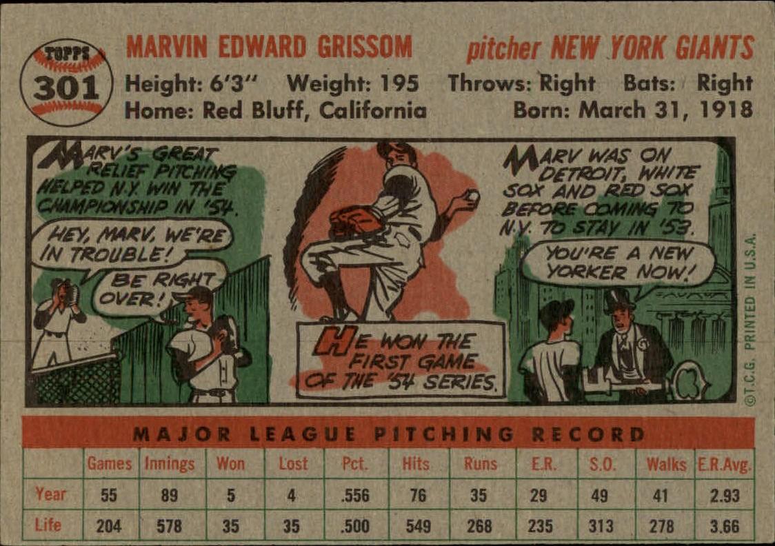 1956-TOPPS-BASEBALL-ASSORTED-SINGLES-U-PICK-242-319 thumbnail 190