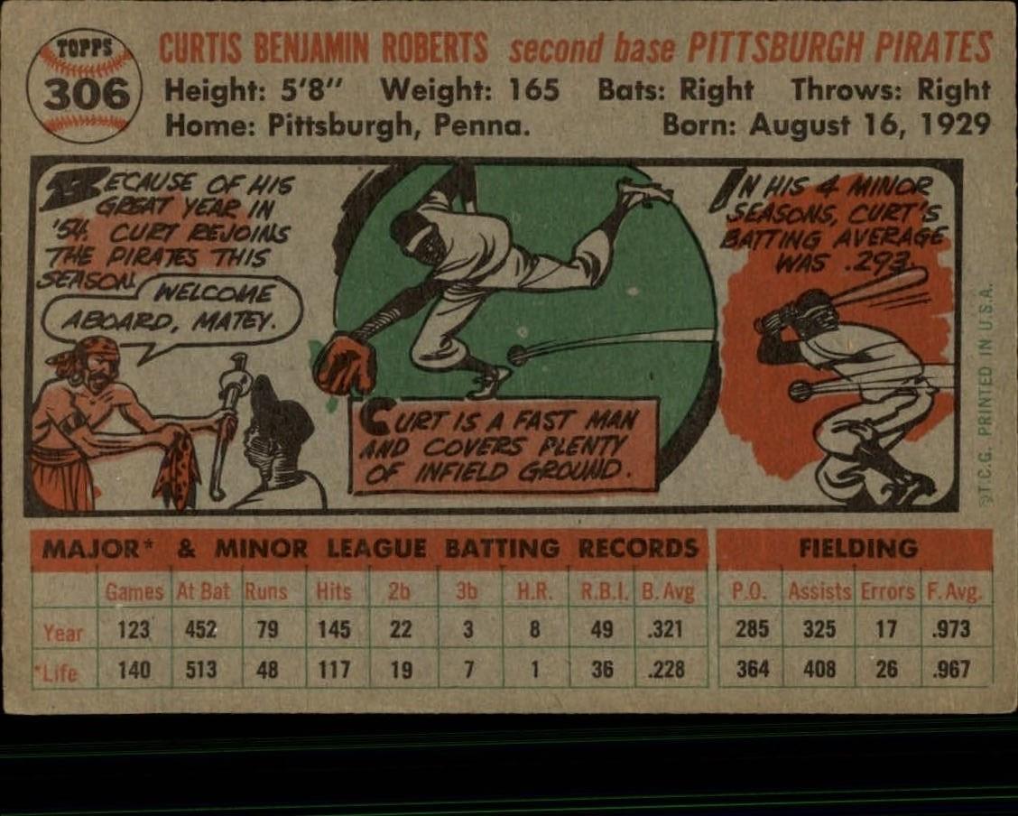 1956-TOPPS-BASEBALL-ASSORTED-SINGLES-U-PICK-242-319 thumbnail 200