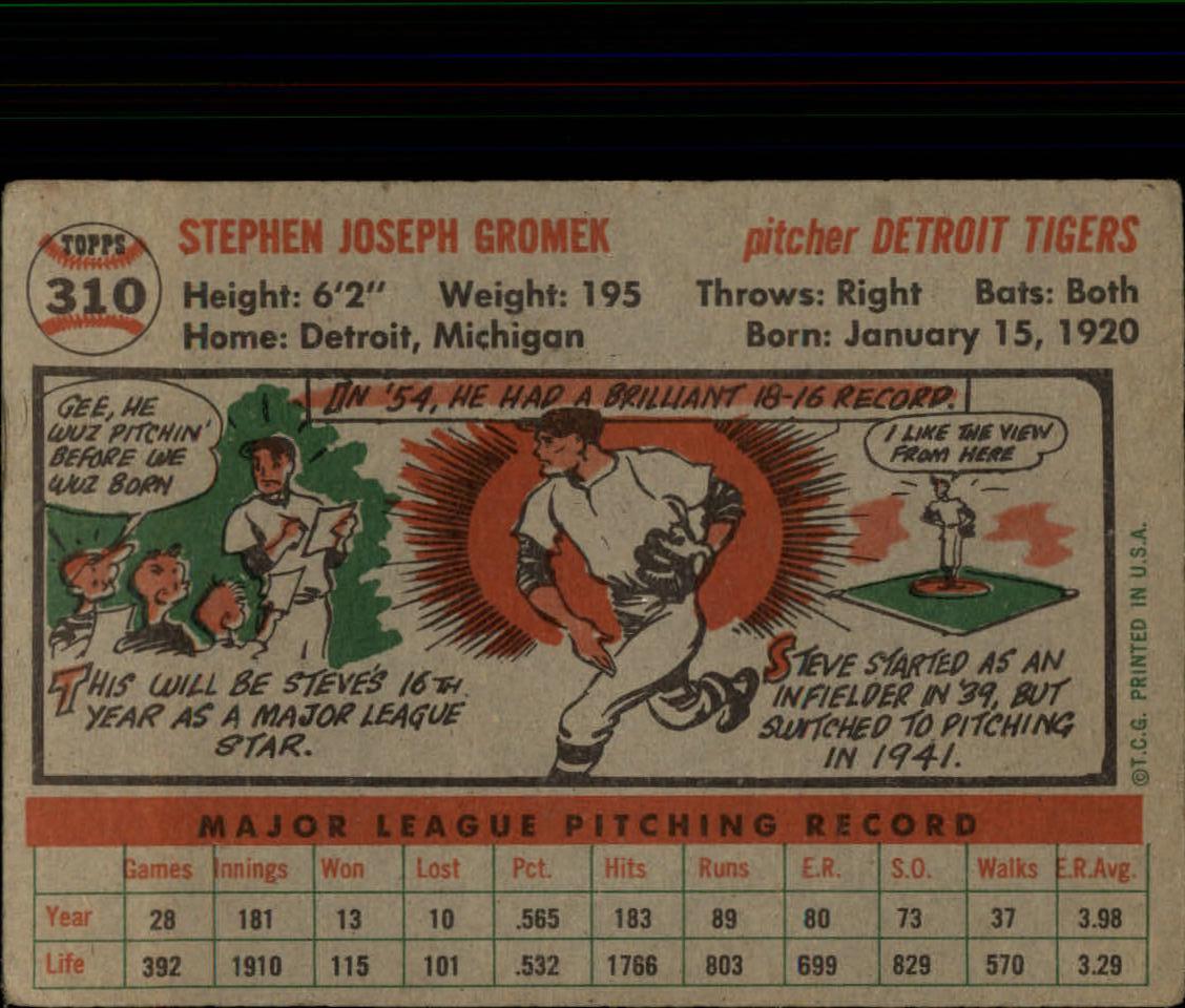 1956-TOPPS-BASEBALL-ASSORTED-SINGLES-U-PICK-242-319 thumbnail 210
