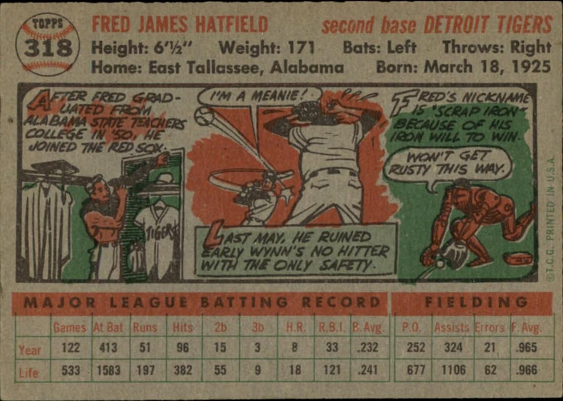 1956-TOPPS-BASEBALL-ASSORTED-SINGLES-U-PICK-242-319 thumbnail 224