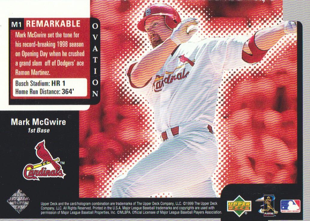 1999-Upper-Deck-Ovation-Baseball-Cards-Pick-From-List thumbnail 135