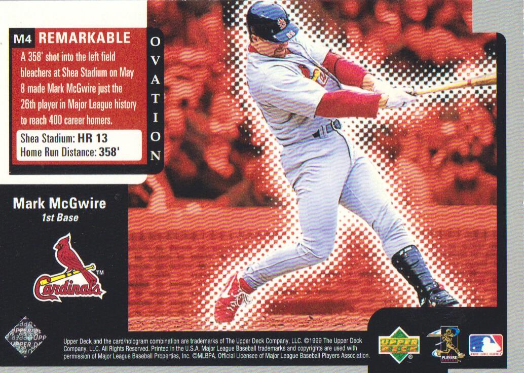 1999-Upper-Deck-Ovation-Baseball-Cards-Pick-From-List thumbnail 139