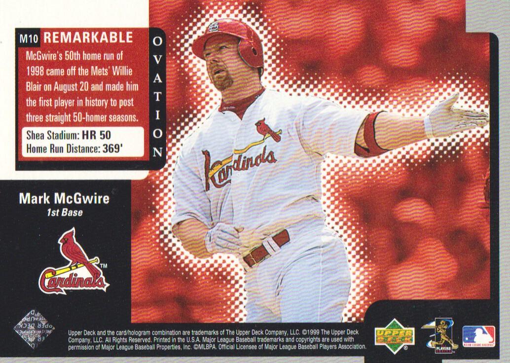 1999-Upper-Deck-Ovation-Baseball-Cards-Pick-From-List thumbnail 143