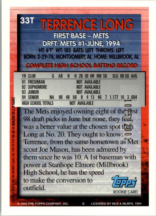 2001-Topps-Traded-Gold-Baseball-Card-Pick thumbnail 43