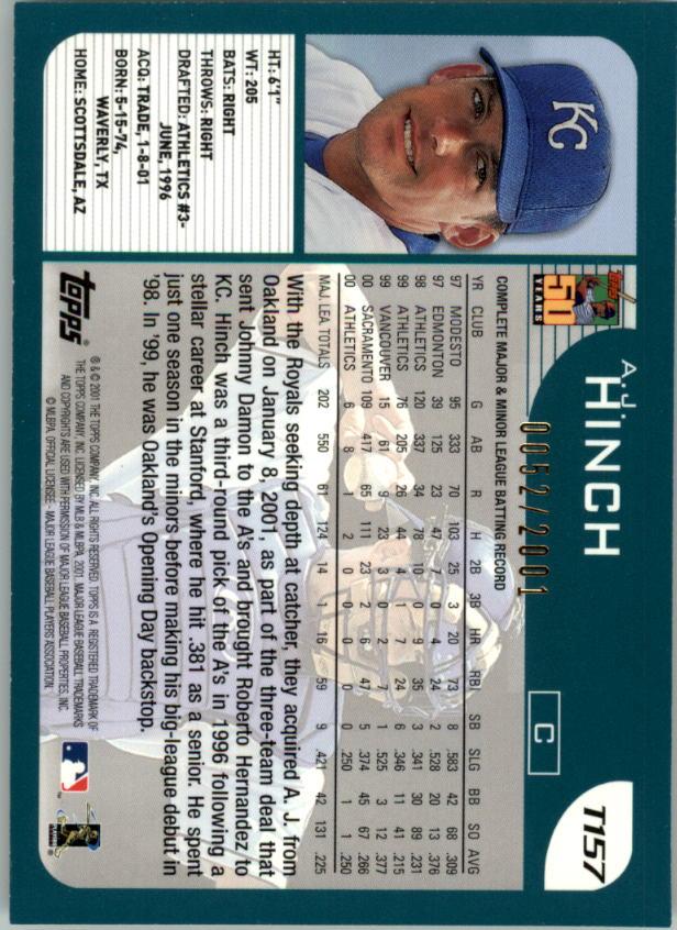 2001-Topps-Traded-Gold-Baseball-Card-Pick thumbnail 47