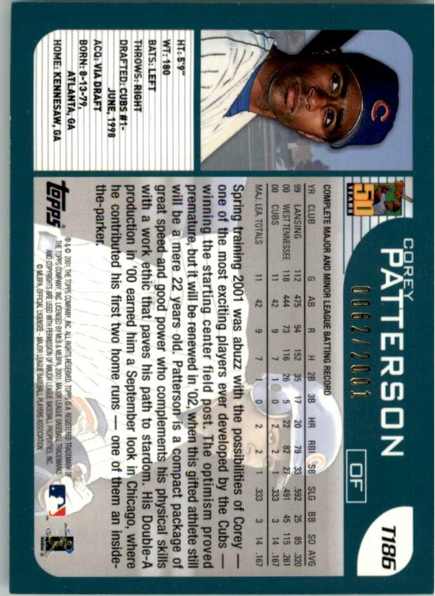 2001-Topps-Traded-Gold-Baseball-Card-Pick thumbnail 51