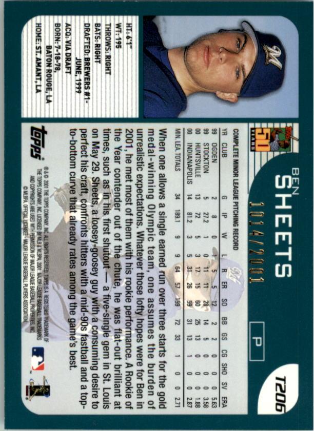 2001-Topps-Traded-Gold-Baseball-Card-Pick thumbnail 55