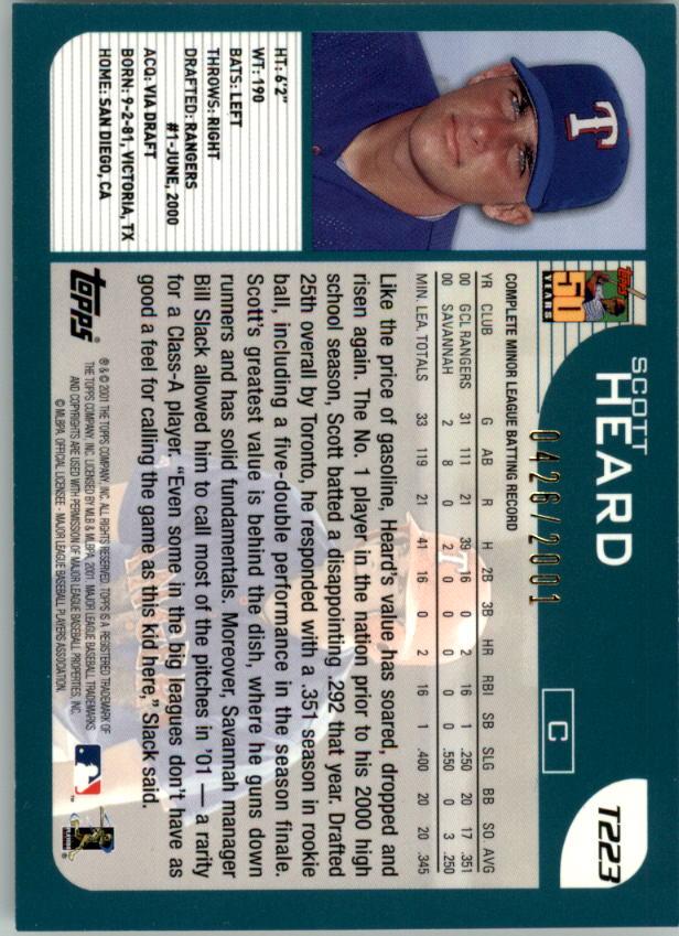 2001-Topps-Traded-Gold-Baseball-Card-Pick thumbnail 61