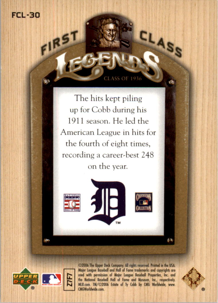 2006-Upper-Deck-First-Class-Legends-Gold-Baseball-Card-Pick miniature 29