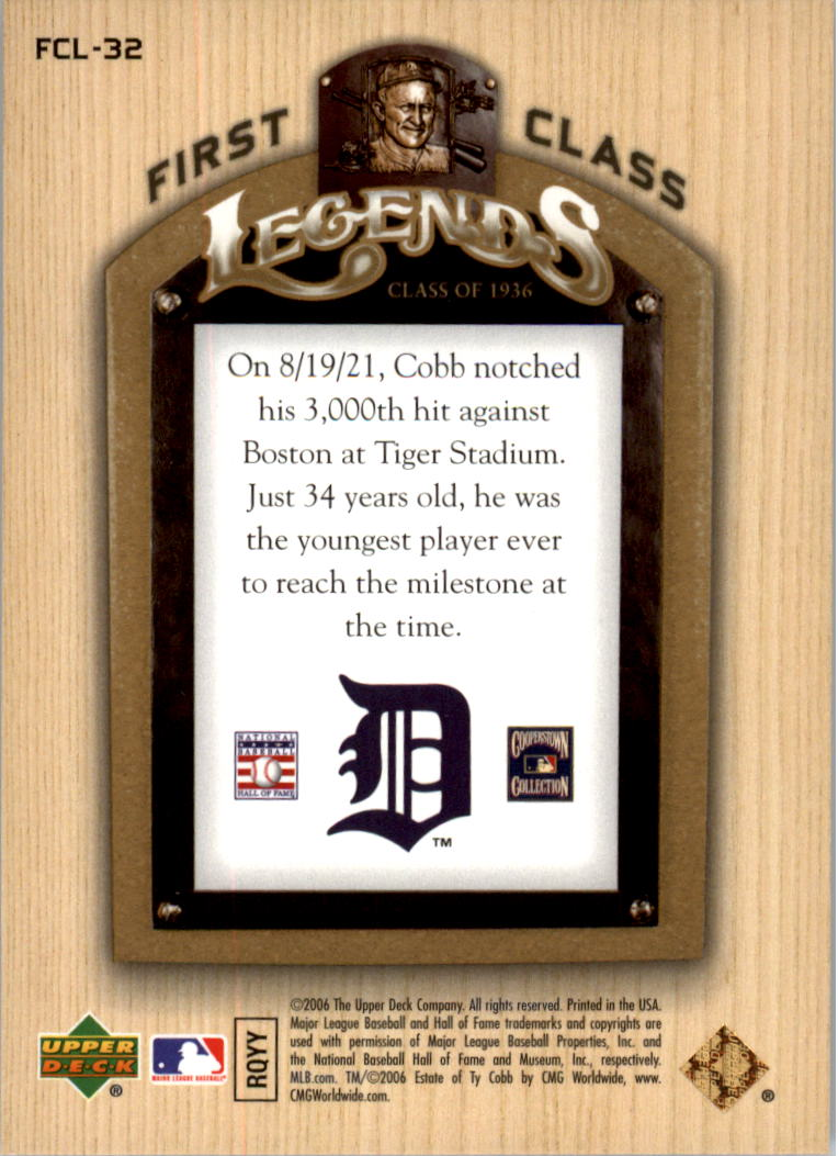 2006-Upper-Deck-First-Class-Legends-Gold-Baseball-Card-Pick miniature 31
