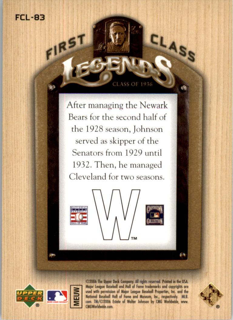 2006-Upper-Deck-First-Class-Legends-Gold-Baseball-Card-Pick miniature 54