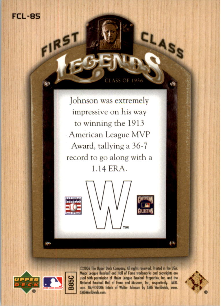 2006-Upper-Deck-First-Class-Legends-Gold-Baseball-Card-Pick miniature 56