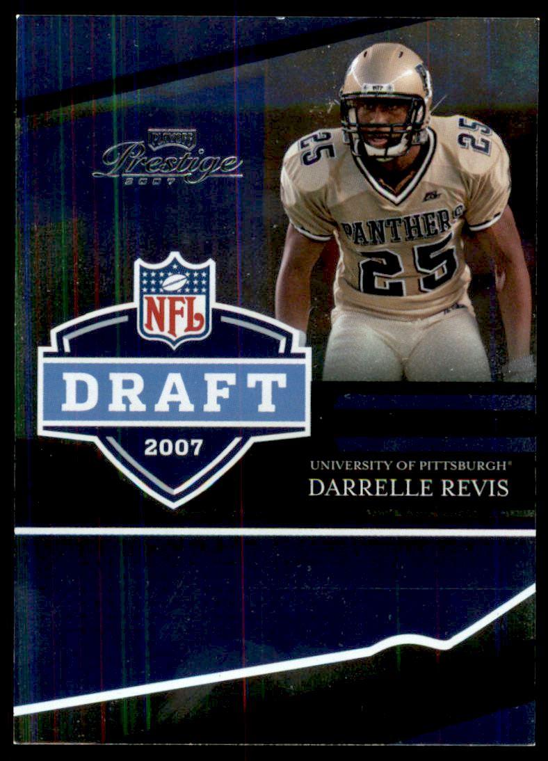 dea21ac5a20a Image is loading 2007-Playoff-Prestige-NFL-Draft-Foil-36-Darrelle-