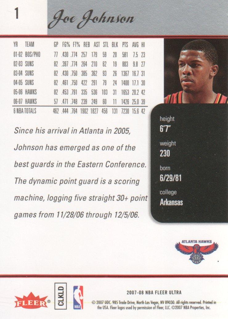 2007-08-Fleer-Ultra-SE-Basketball-Cards-Base-Set-Pick-From-List thumbnail 3