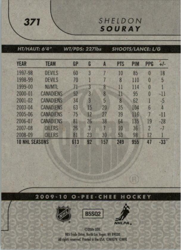 2009-10-O-Pee-Chee-Hockey-Card-Pick-258-500