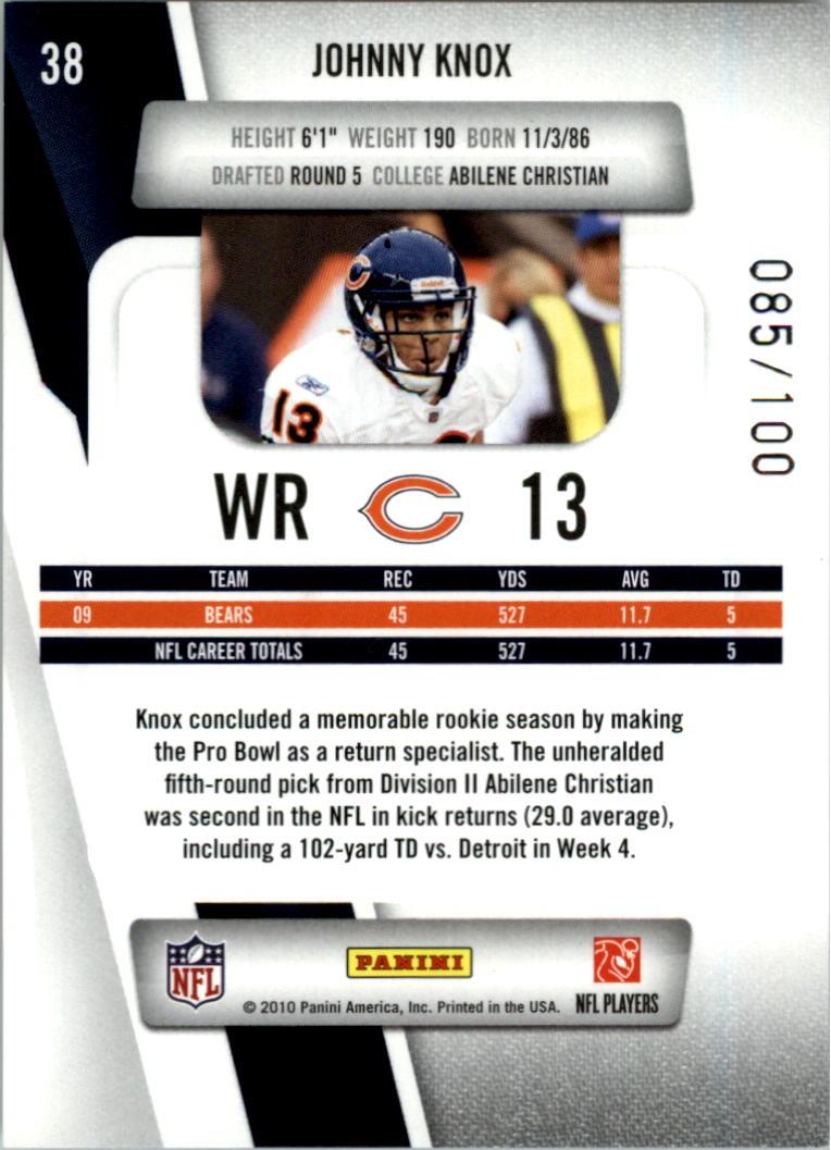 2010-Prestige-Xtra-Points-Red-Football-Card-Pick thumbnail 3