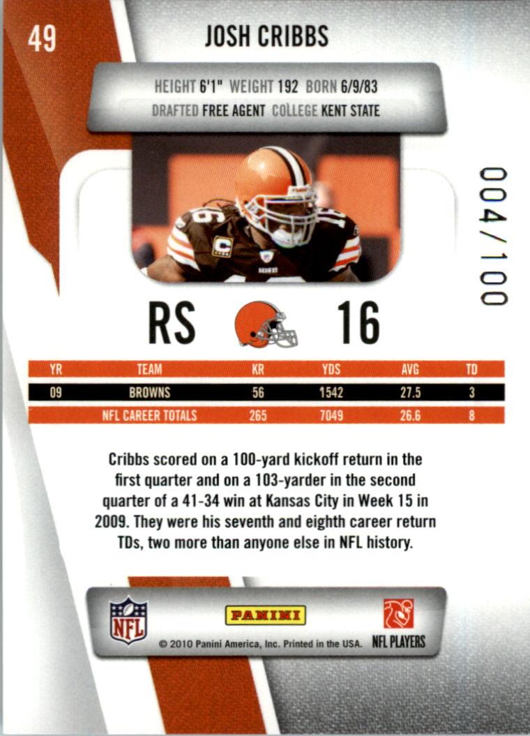 2010-Prestige-Xtra-Points-Red-Football-Card-Pick thumbnail 5