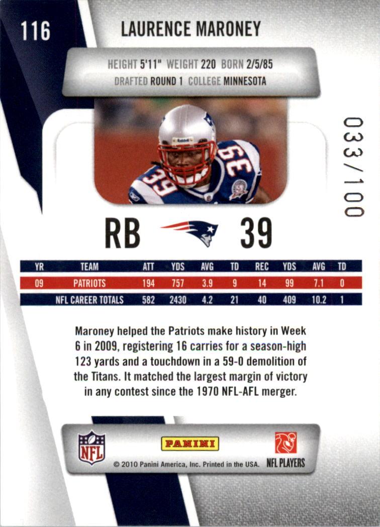 2010-Prestige-Xtra-Points-Red-Football-Card-Pick thumbnail 15