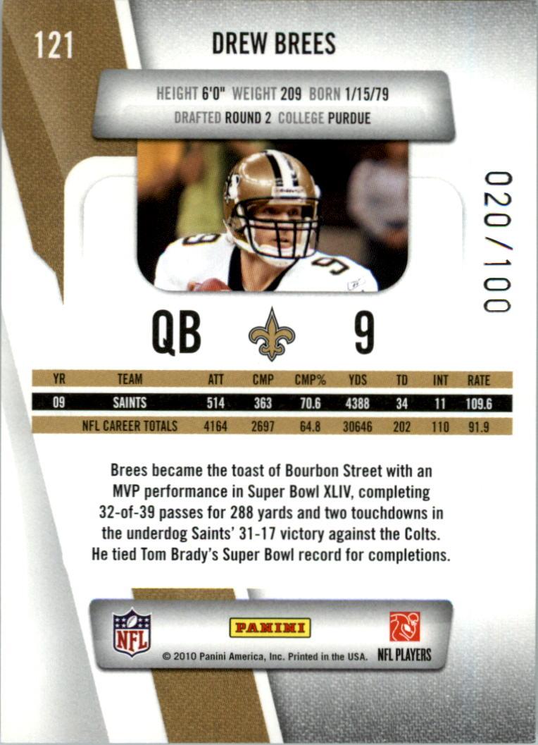 2010-Prestige-Xtra-Points-Red-Football-Card-Pick thumbnail 17