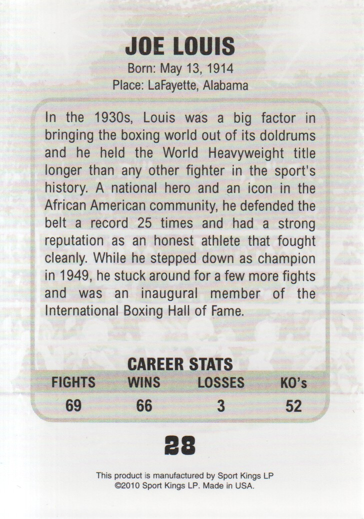 2010-Ringside-Boxing-Round-One-Pick-From-List thumbnail 3