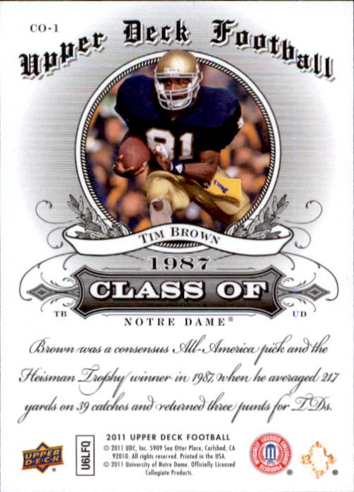 2011-Upper-Deck-FB-20th-Anniversary-Inserts-You-Pick-Buy-10-cards-FREE-SHIP thumbnail 255