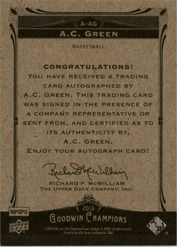 2013-Upper-Deck-Goodwin-Champions-Autographs-Trading-Card-Pick thumbnail 3