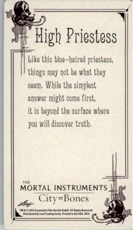 Tessa tarot card by Cassandra Jean – TMI Source |Mortal Instruments Cards