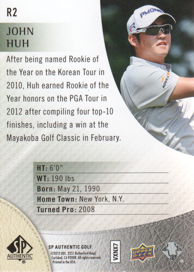 2014-SP-Authentic-Golf-Cards-Pick-From-List miniature 175