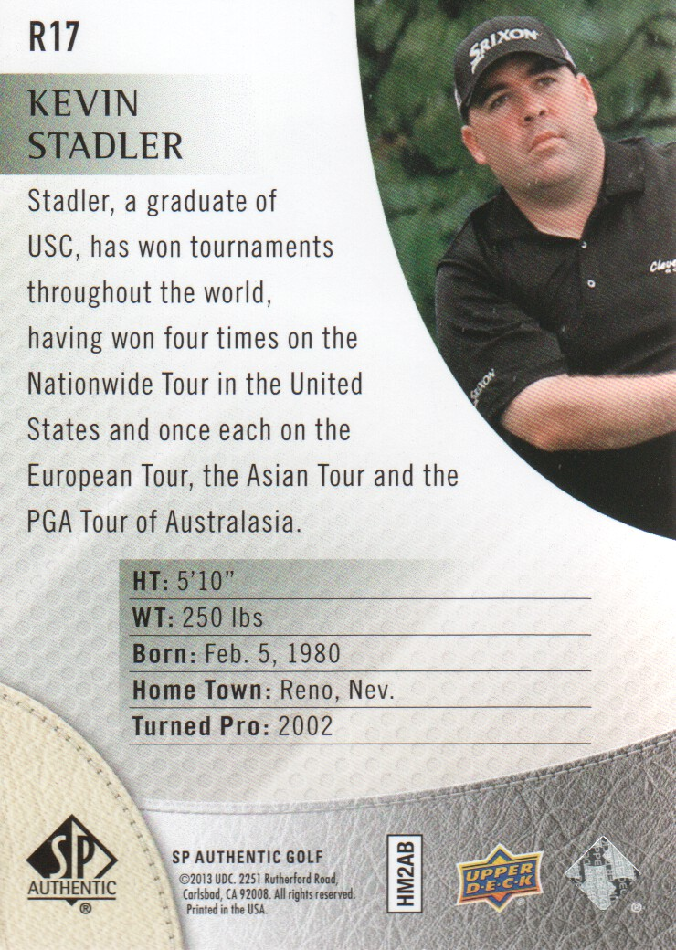 2014-SP-Authentic-Golf-Cards-Pick-From-List miniature 205