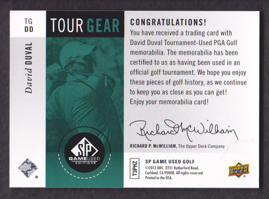 2014-SP-Game-Used-Edition-Golf-Cards-Pick-From-List miniature 171