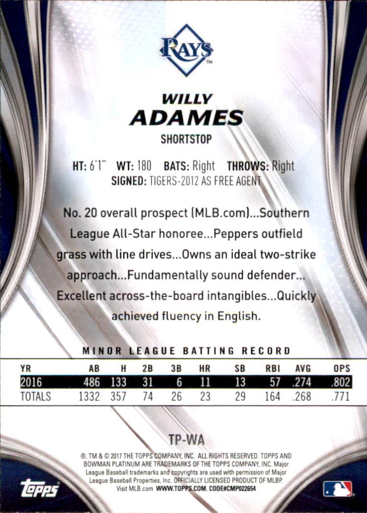 Your Choice *GOTBASEBALLCARDS 2012 Bowman Platinum Prospects Baseball #1-250