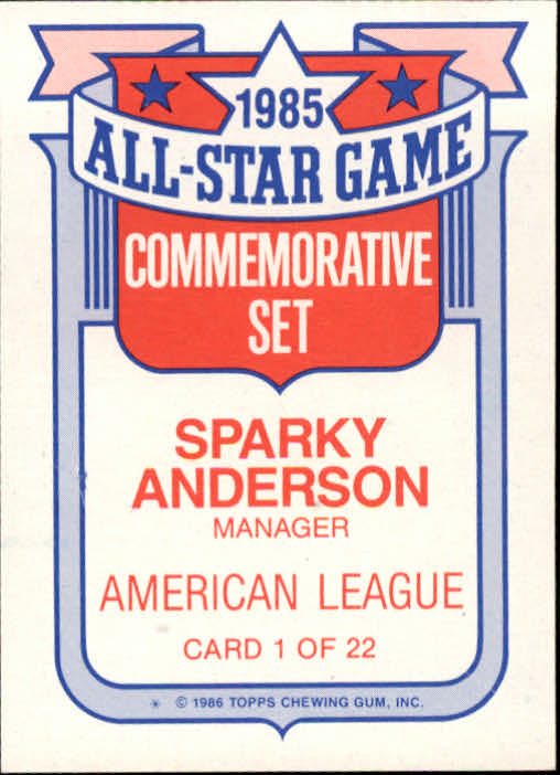 1986-Topps-Glossy-All-Stars-Basebal-Cards-You-Pick-Buy-10-cards-FREE-SHIP miniature 3