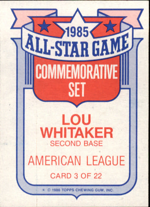 1986-Topps-Glossy-All-Stars-Basebal-Cards-You-Pick-Buy-10-cards-FREE-SHIP miniature 7