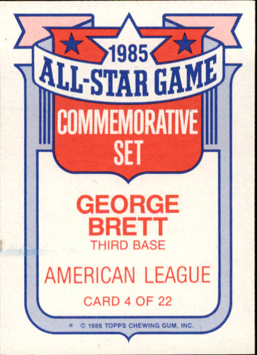 1986-Topps-Glossy-All-Stars-Basebal-Cards-You-Pick-Buy-10-cards-FREE-SHIP miniature 9