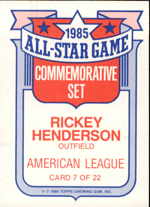 1986-Topps-Glossy-All-Stars-Basebal-Cards-You-Pick-Buy-10-cards-FREE-SHIP miniature 15