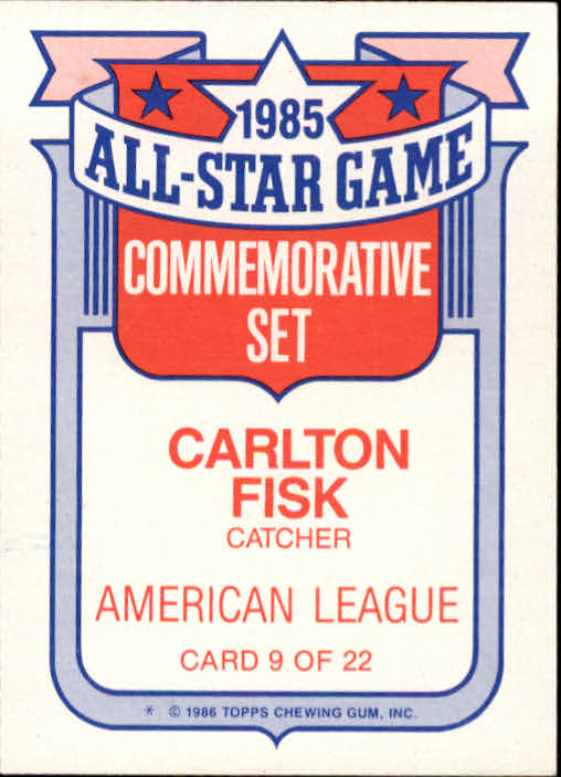 1986-Topps-Glossy-All-Stars-Basebal-Cards-You-Pick-Buy-10-cards-FREE-SHIP miniature 19
