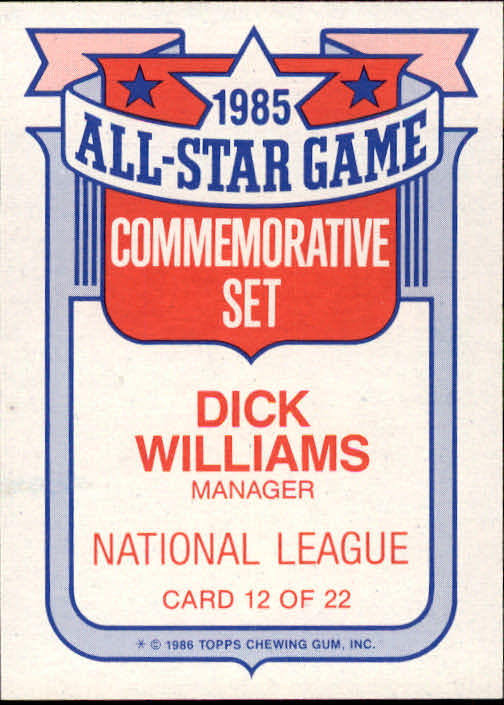 1986-Topps-Glossy-All-Stars-Basebal-Cards-You-Pick-Buy-10-cards-FREE-SHIP miniature 25