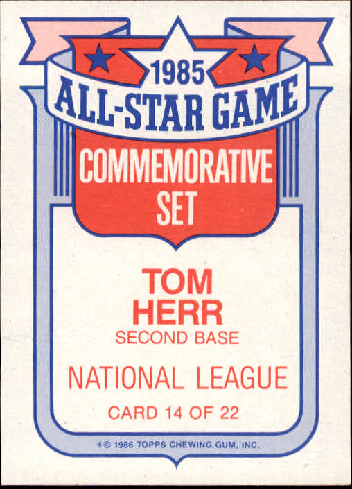 1986-Topps-Glossy-All-Stars-Basebal-Cards-You-Pick-Buy-10-cards-FREE-SHIP miniature 29