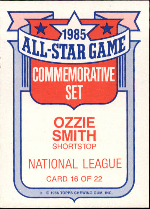 1986-Topps-Glossy-All-Stars-Basebal-Cards-You-Pick-Buy-10-cards-FREE-SHIP miniature 33