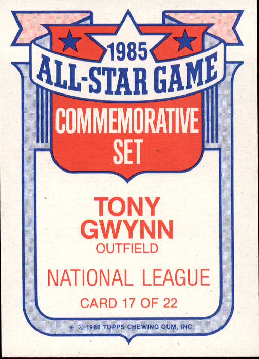 1986-Topps-Glossy-All-Stars-Basebal-Cards-You-Pick-Buy-10-cards-FREE-SHIP miniature 35