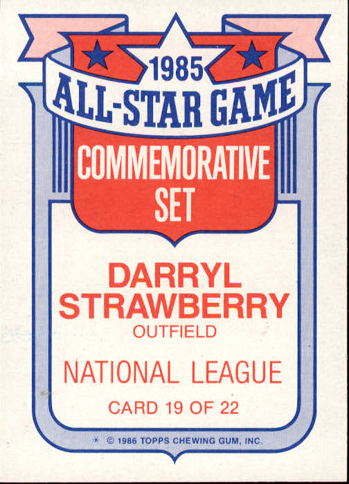 1986-Topps-Glossy-All-Stars-Basebal-Cards-You-Pick-Buy-10-cards-FREE-SHIP miniature 39