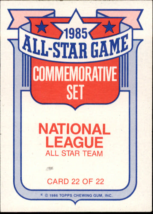 1986-Topps-Glossy-All-Stars-Basebal-Cards-You-Pick-Buy-10-cards-FREE-SHIP miniature 45